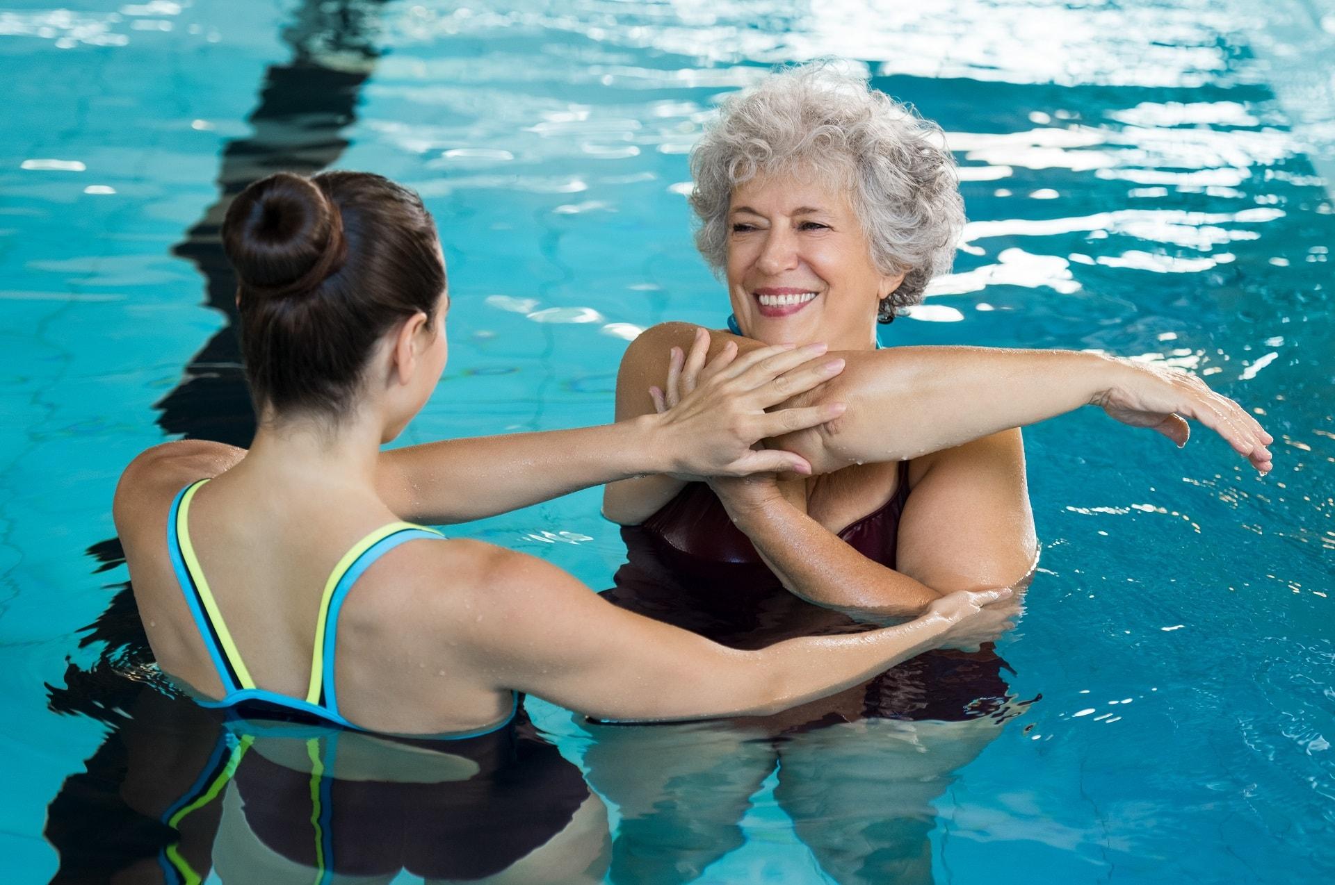 Fisioterapia en agua
