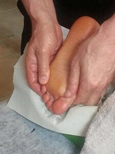 problemas de gota en el pie