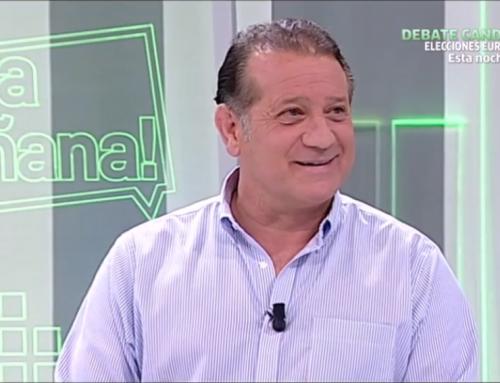Entrevista en Canal Sur del doctor Vicente de la Varga