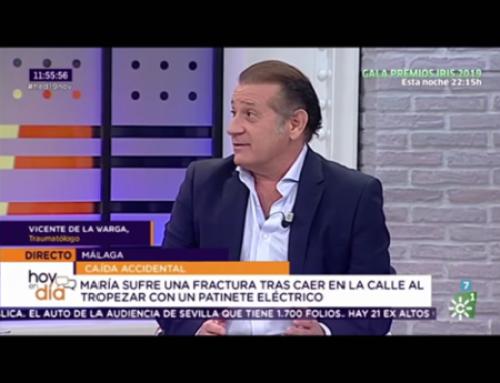 Entrevista al doctor Vicente de la Varga en el programa «Hoy al Día» de Canal Sur