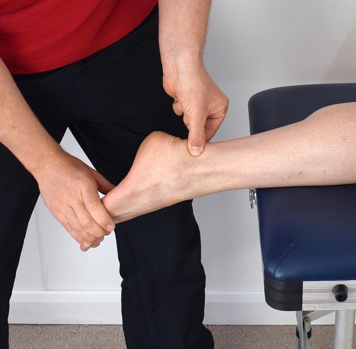 fisioterapia estorsis de tobillo