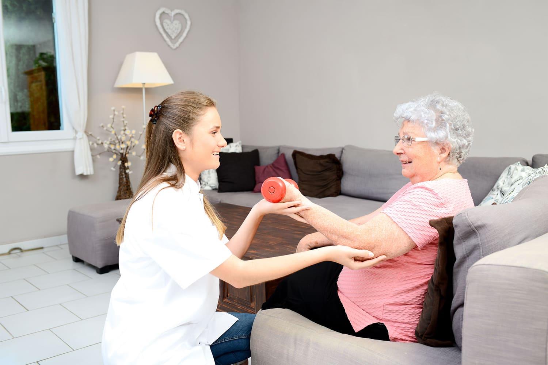 fisioterapeuta a domicilio esguince de muñeca