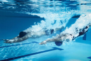 lesiones en la natacion